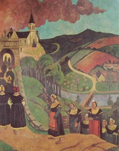 Paul Serusier: Notre Dame de Portes, olio su tela