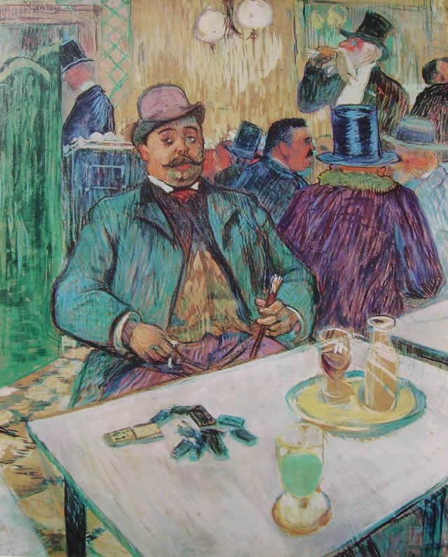 Toulouse-Lautrec: Il signor Boileau al caffè