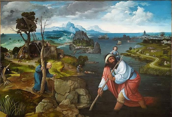 San Cristoforo trasporta il Bambino Gesù