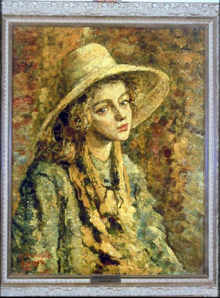 Agazzi Ermenegildo - Figura femminile di pastorella