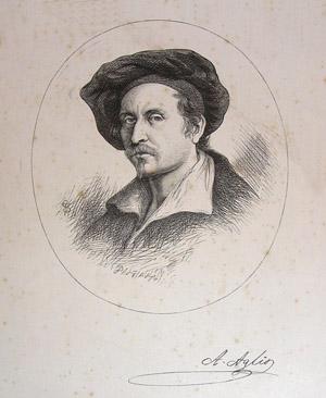 Agostino Maria Aglio Senior - Autoritratto