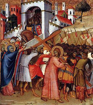 Cristo sulla via del Calvario