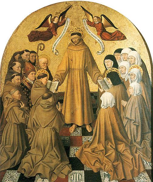 Consegna della regola francescana