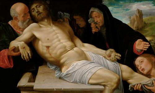 Pietà, Kunsthistorisches Museum di Vienna