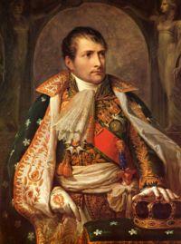 Andrea Appiani: Napoleone Re d'Italia, 1805, Vienna, Kunsthistorisches Museum