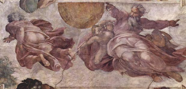 Michelangelo_creazione degli astri