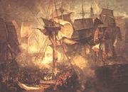 La battaglia di Trafalgar