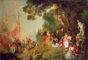 Antoine Watteau: Imbarco per Citera