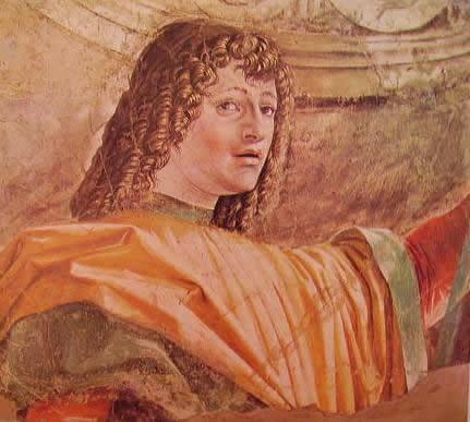 Uomo d'arme: Bramante Donato, Pinacoteca di Brera Milano