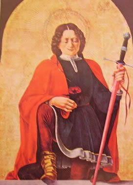 S. Floriano: Francesco del Cossa, 1473, Washington national gallery