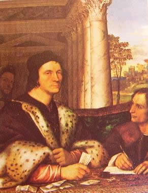 Ritratto del cardinale Ferry Carondolet: Sebastiano del Piombo 1512 Castagnola Lugano, collezione Von Thyssen