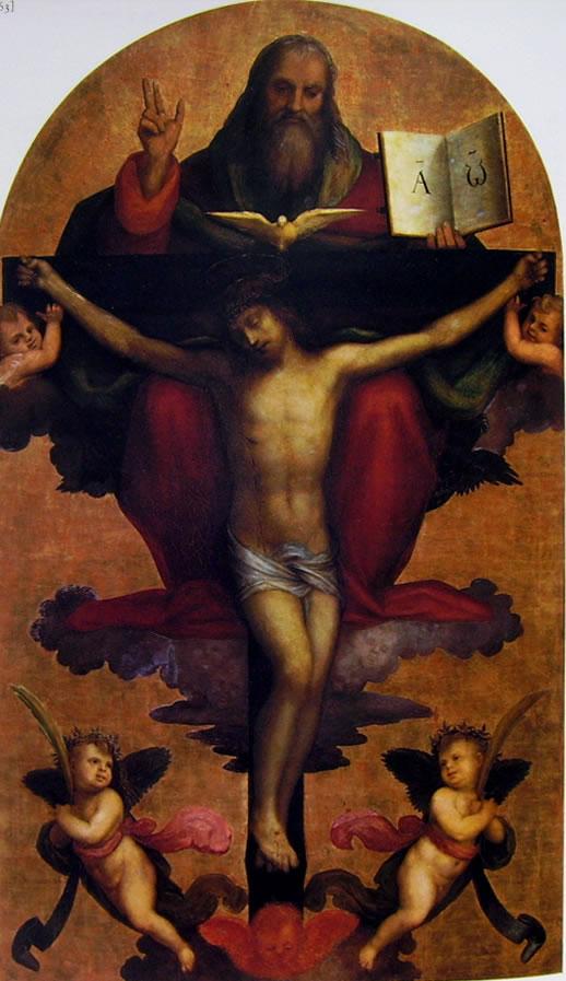 Mariotto Albertinelli: Trinità