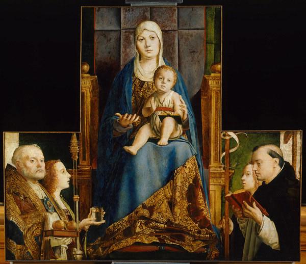 Pala di San Cassiano (Madonna col Bambino in trono)