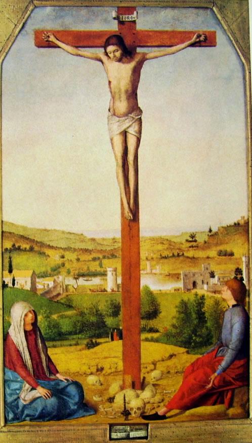 Antonello da Messina: La crocifissione (di Londra).