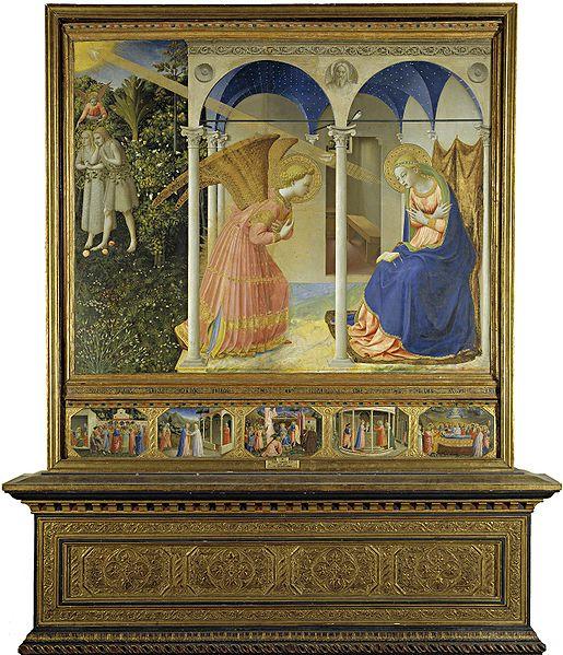 Beato Angelico: Pala dell'Annunciazione