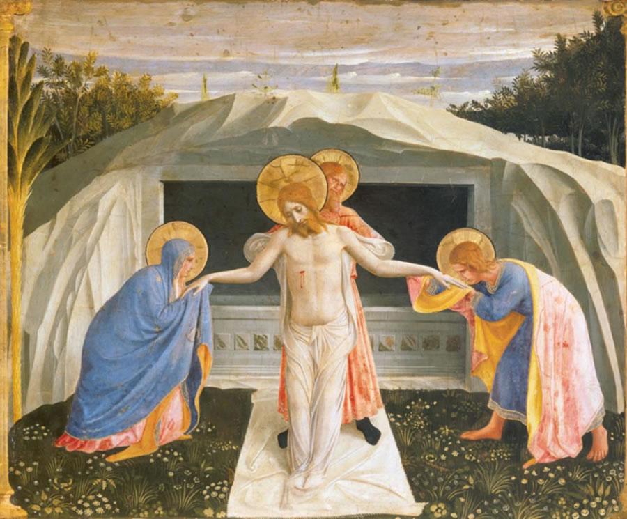 Cristo morto con la Vergine e i santi (Pietà)