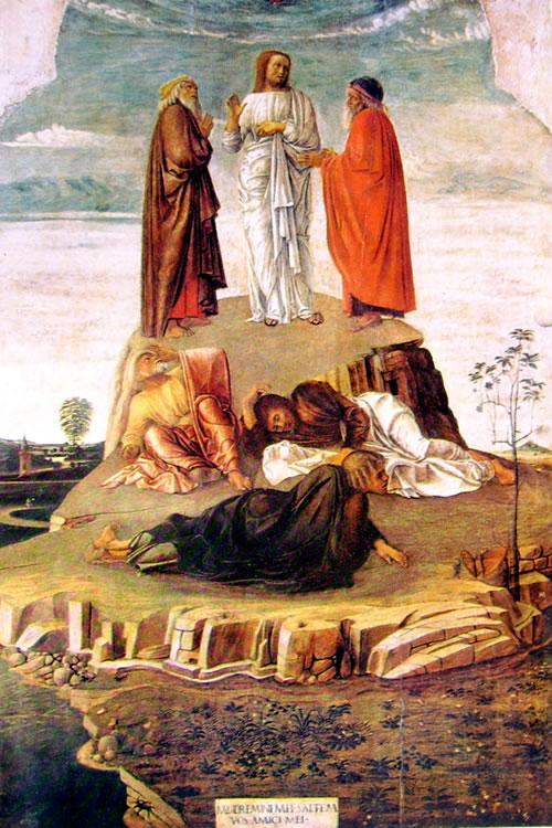 Giovanni Bellini: La trasfigurazione