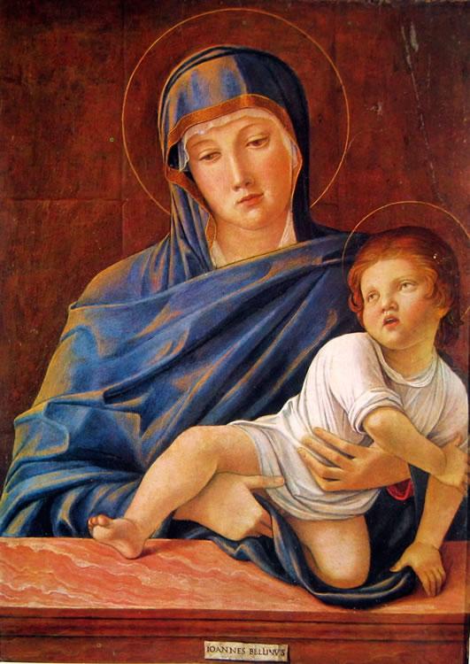 Giovanni Bellini: Madonna col bambino (Accademia Carrara)
