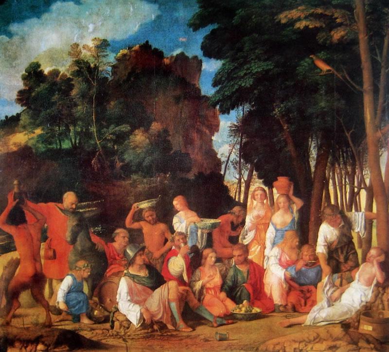 Giovanni Bellini: Festino degli dei