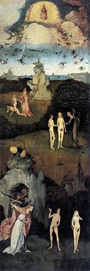Hieronymus Bosch: Trittico del fieno - laterale sinistro