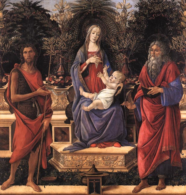 Il Botticelli: Madonna Bardi