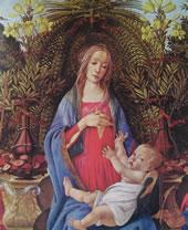 59 botticelli - madonna bardi particolare