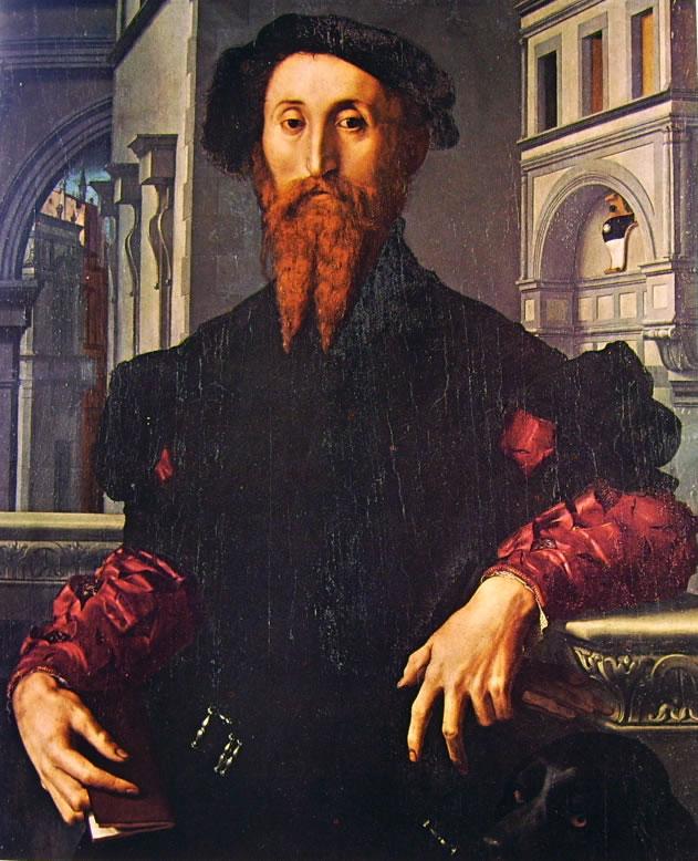 Il Bronzino: Ritratto di Bartolomeo Panciatichi
