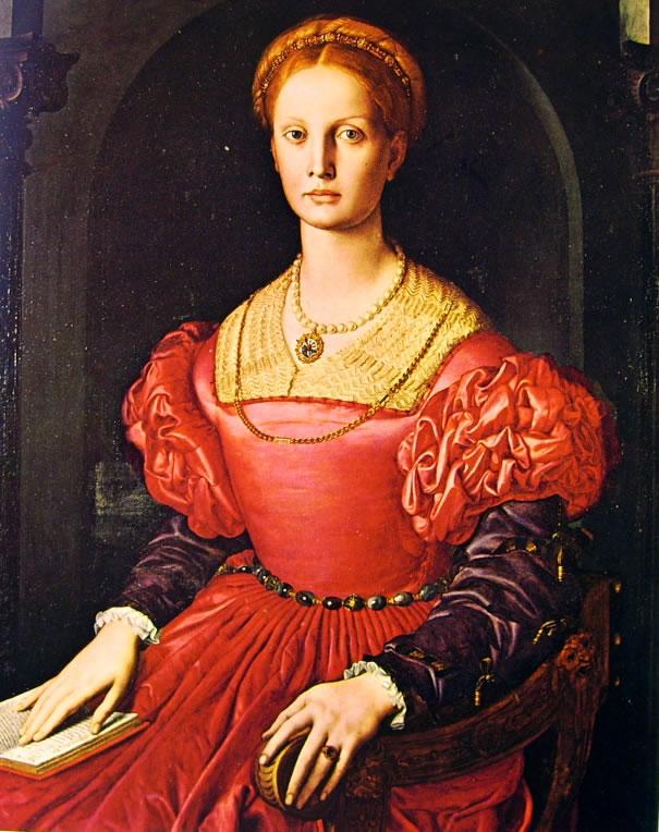 Il Bronzino: Ritratto di Lucrezia Panciatichi