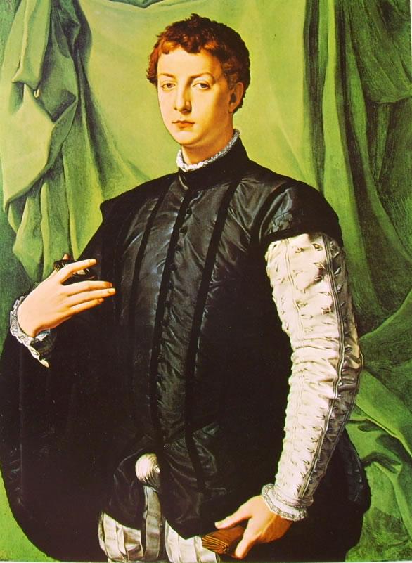 Il Bronzino: Ritratto di Lodovico Capponi