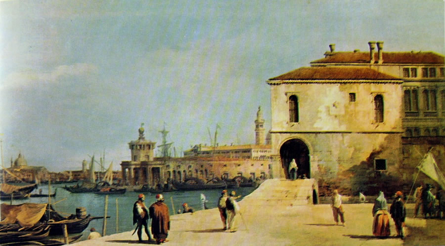 Il Canaletto: Il Fonteghetto della Farina
