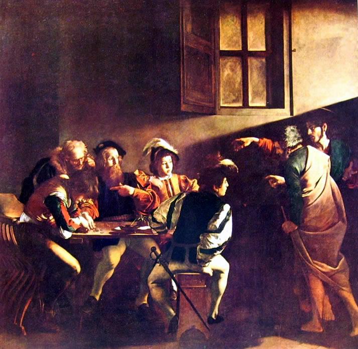 Il Caravaggio: La Vocazione di S. Matteo