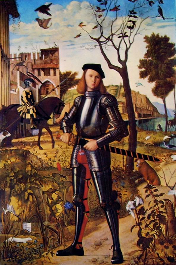 Carpaccio: Ritratto di cavaliere