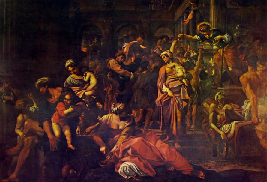 Annibale Carracci: Elemosina di San Rocco