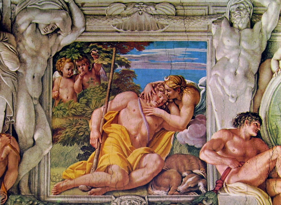 Annibale Carracci - La Galleria Farnese: Diana e Endimione