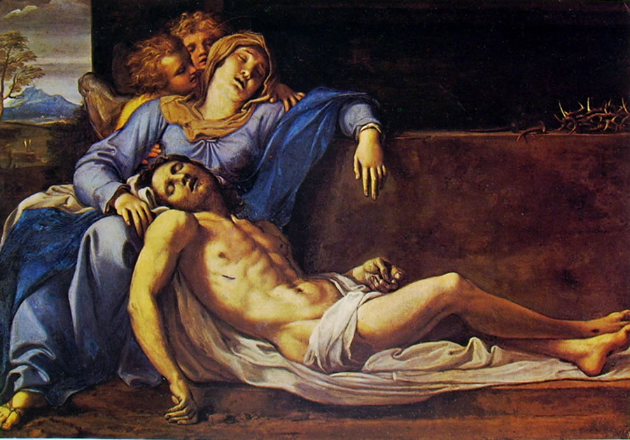 Annibale Carracci: Pietà