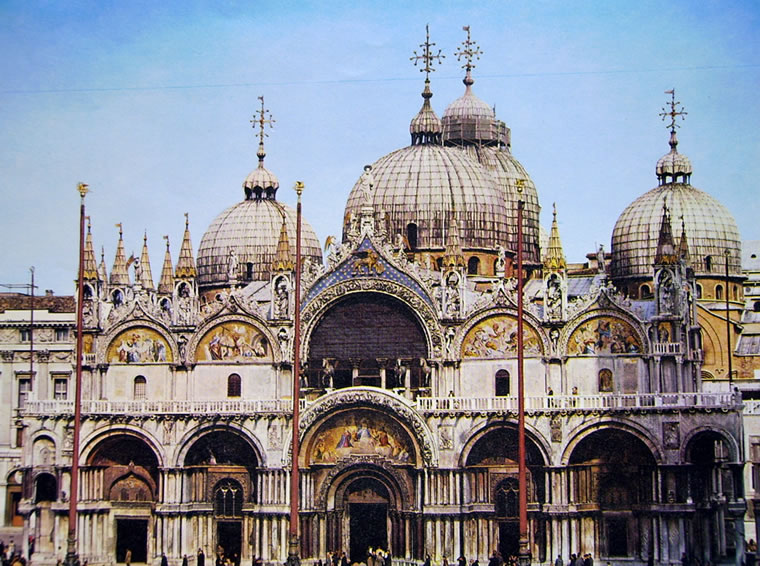 la basilica di san marco. Black Bedroom Furniture Sets. Home Design Ideas