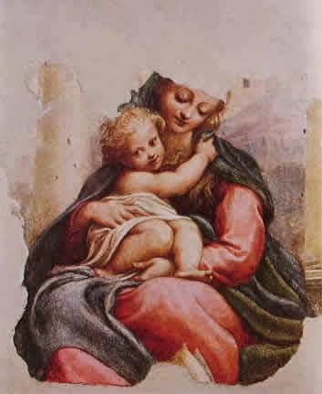 Correggio - Madonna della scala