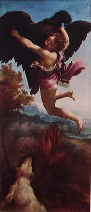 Correggio - Ganimede