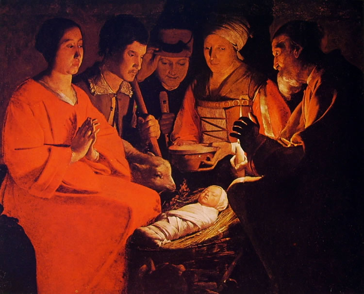 Georges de La Tour: L'adorazione dei pastori