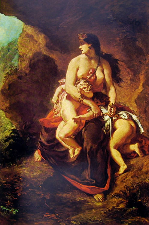Eugène Delacroix: La furia di Medea
