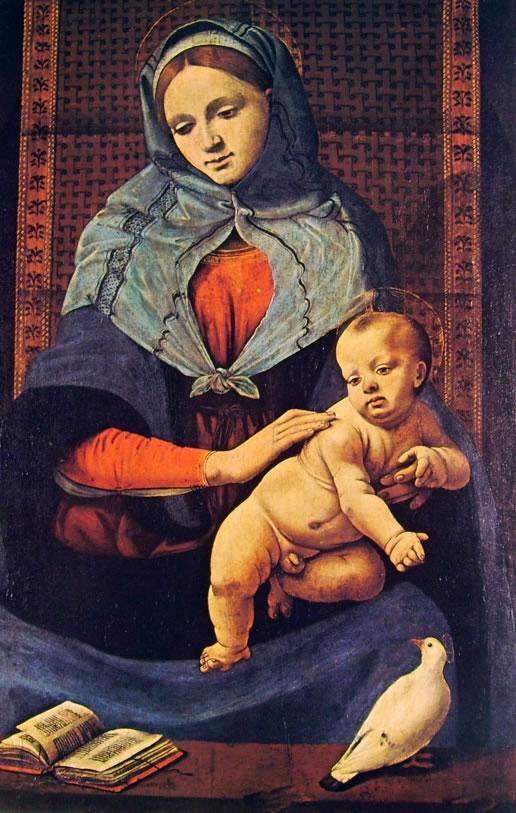 Piero di Cosimo: Madonna con il Bambino