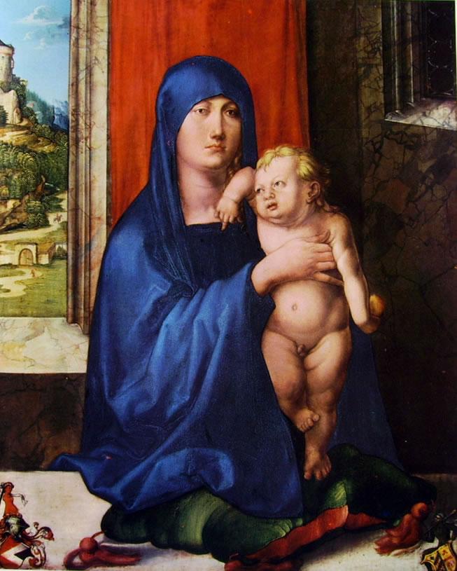 Albrecht Dürer: Madonna col Bambino