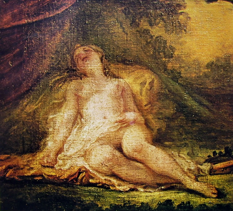 Jean-Honoré Fragonard: Baccante addormentata
