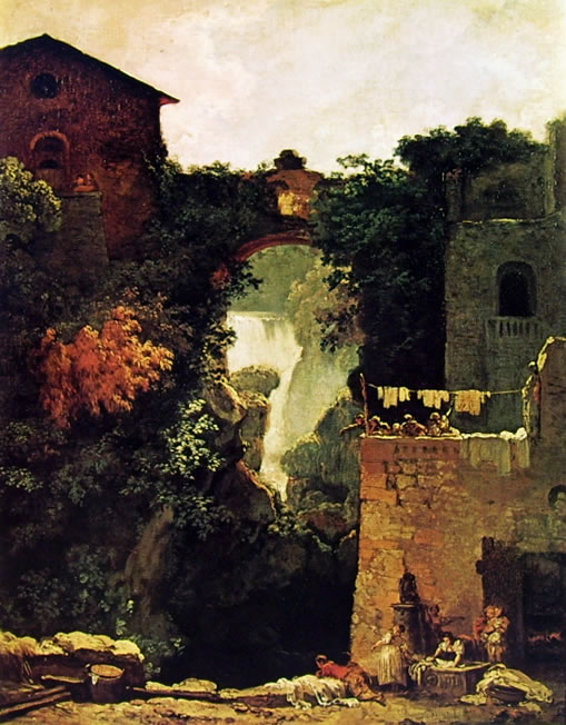 Jean-Honoré Fragonard: Cascate a Tivoli