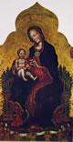Gentile da Fabriano: Madonna con Bambino e angeli musicanti