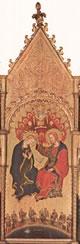 Pannello centrale - Incoronazione della Vergine