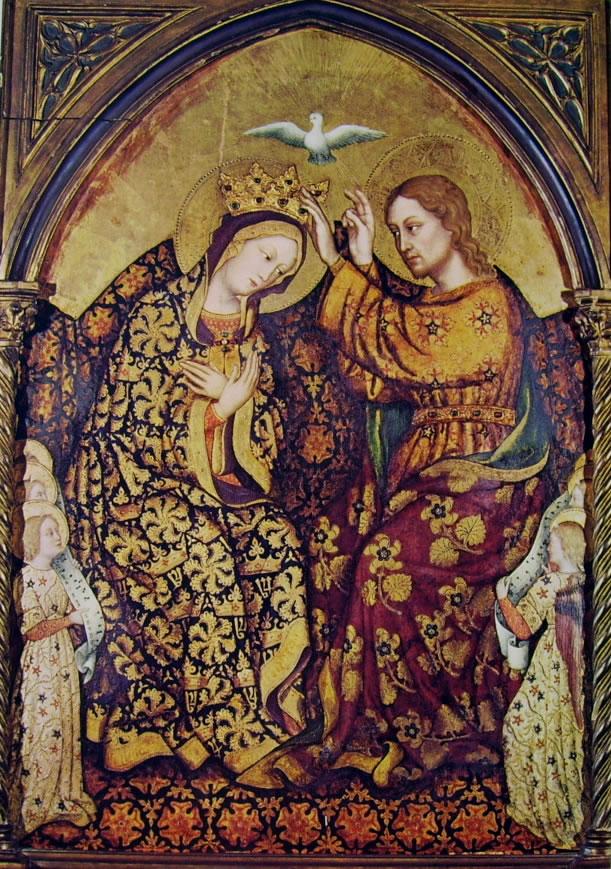 Gentile da Fabriano: Incoronazione della Vergine (Paul Getty Museum)