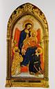 28 gentile da fabriano - madonna col bambino e i santi