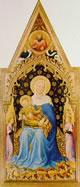 Madonna in trono col Bambino e angeli