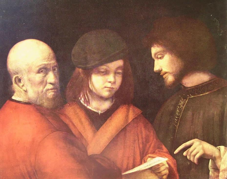 Giorgione: Le tre età dell'uomo